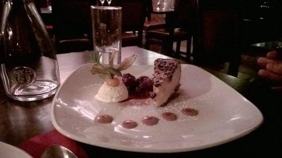 Millstone Restaurant: cheesecake...ottima