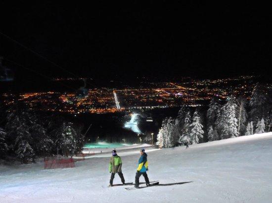 Gorny Vozduh (Mountain Air): Ночное катание