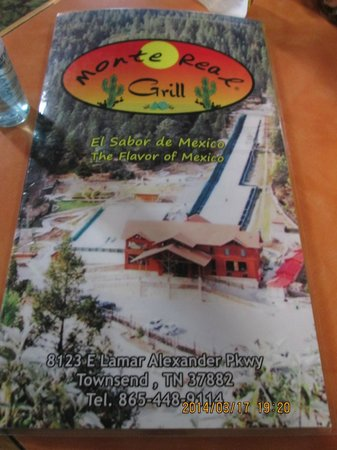 Monte Real Mexican Restaurant: Options for vegetarians! :) I really enjoyed this restaurant.