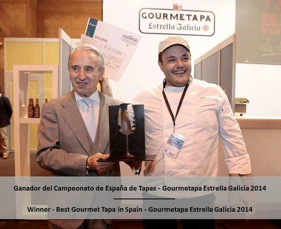 LB Tenerife: La Bola Chef Jorge Bosch - Winner of Spanish Contest Gourmetapa