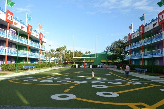 Disney's All-Star Sports Resort: Campo de futebol americano