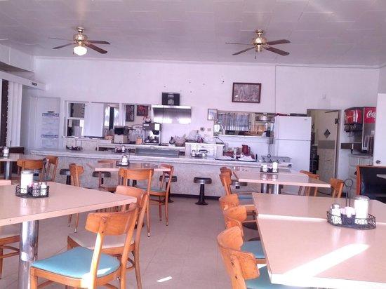 El Charro Restaurant: Pretty plain interior - I am here for the food!