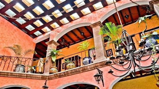 Posada de las Flores Loreto: Posada de las Flores Entry Lobby