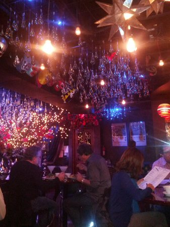 Elvira's : The Ceiling is mesmerizing