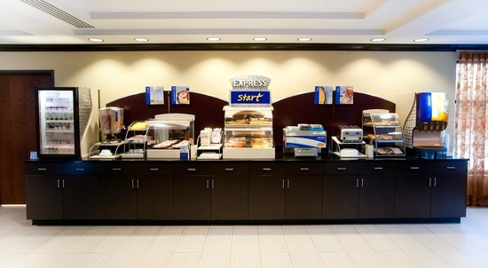 Holiday Inn Express & Suites Selinsgrove: Breakfast Bar