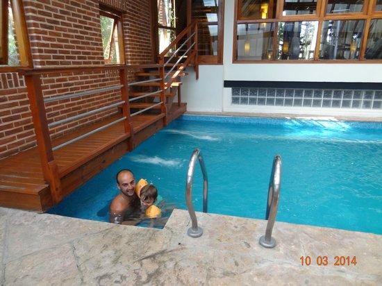 Hotel La Mansion del Bosque Spa & Resort: pileta climatizada techada