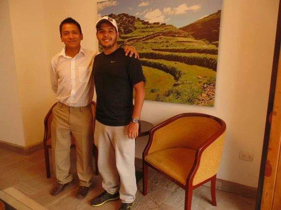 Tierra Viva Cusco Centro: Daniel e o querido Rodrigo do Tierra Viva