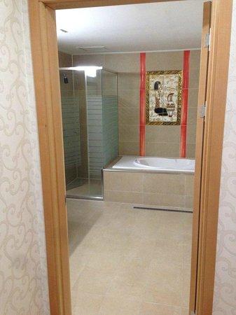 Sacheon Tourist Hotel : バスルーム