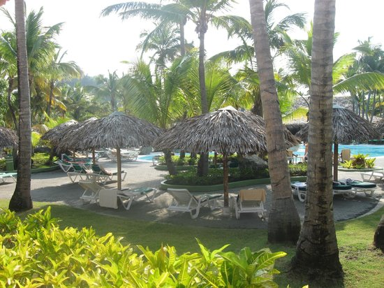 ClubHotel Riu Merengue: Shade at the pool