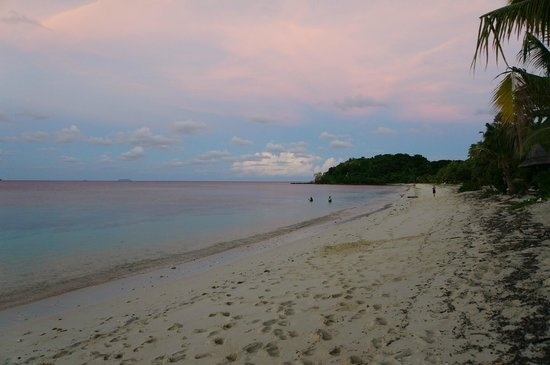Mana Island Resort : Beach just outside our bure