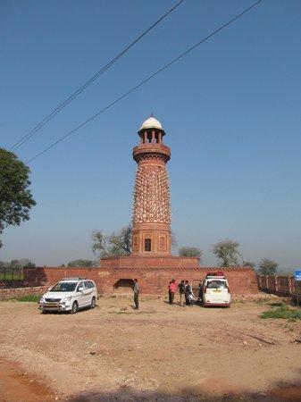 Fatehpur Sikri: Hiran Minar