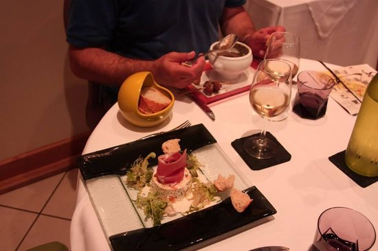 Le Terroir : Our beautifully presented meal