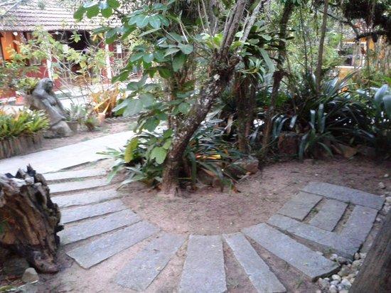 Pousada Estaleiro Village : Vista do Jardim