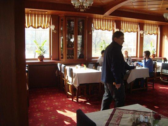 Botel Albatros: salón comedor cerrado