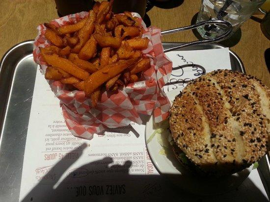 OMG Resto : Greasy sweet potato fries