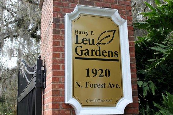 Harry P. Leu Gardens : Henry P Leu Gardens