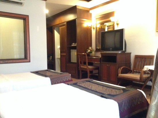 P. P. Palm Tree Resort : deluxe twin room