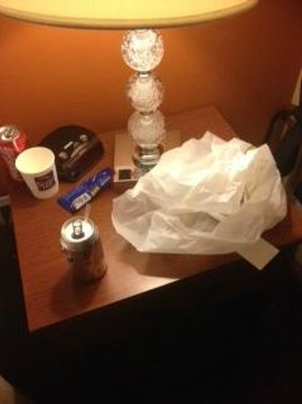 Sleep Inn - Long Island City : more mess left for me to clean