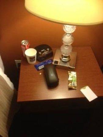Sleep Inn - Long Island City: same old cans