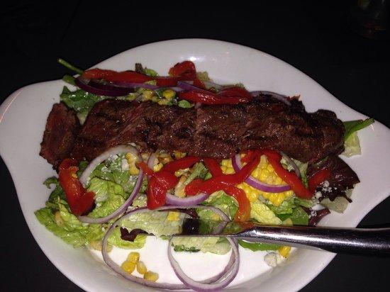 Quintessential Dining and Nightlife: Steak Salad