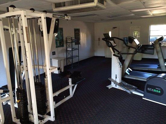 Maingate Lakeside Resort: Wonderful fitness room.