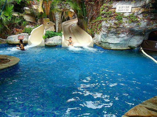 Resort Horizon: 水滑梯