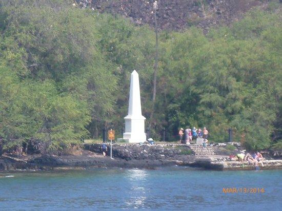 Fair Wind Big Island Ocean Guides: Captain Cook Monument