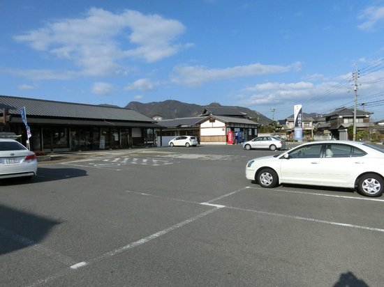 Bizen Osafune Token Village: 駐車場