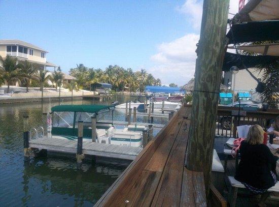 Waterfront Restaurant: On deck