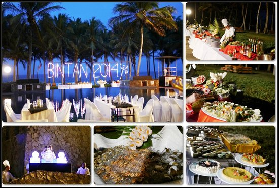 Club Med Bintan Island : The special dinner set up by the pool