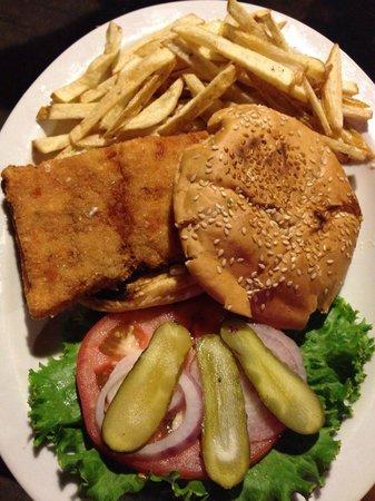I Love Sushi : Fish Sandwich!