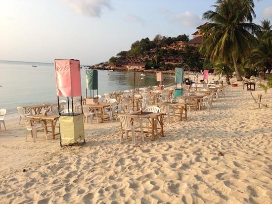 Longbay Resort: The only On-the-beach BBQ on the island.  They cook right there for you.  The other ones cook so
