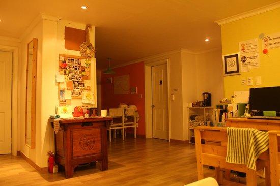 Namu Guesthouse: リビング