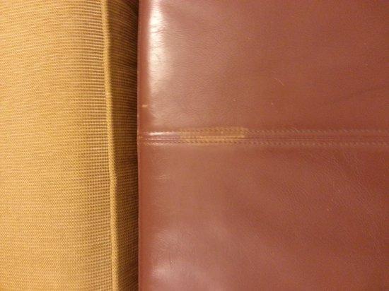 Hyatt Place Cincinnati-Northeast: Mysterious stain on upholstery