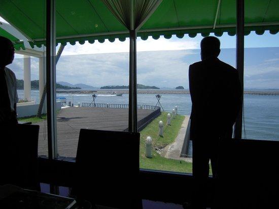 Hotel Limani: レストランからの海の眺め