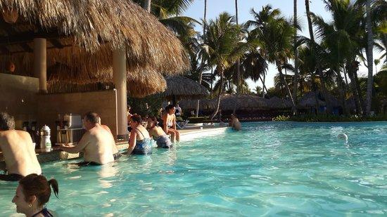 Grand Palladium Punta Cana Resort & Spa: Piscina Bar