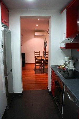 Prado Apartments: Galley kitchen