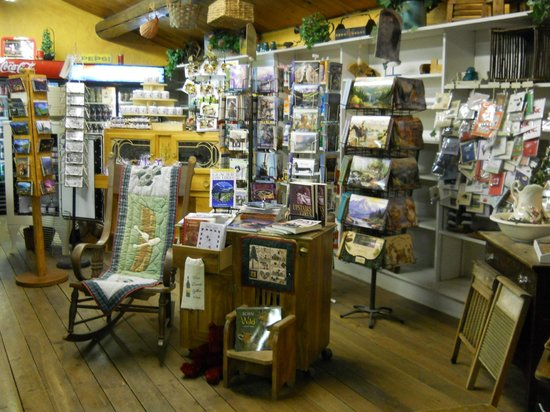 Swan Lake Trading Post & Campground: Part of the Gift Store