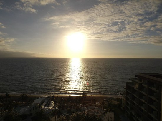 Now Amber Puerto Vallarta: Sunset (view from my room)