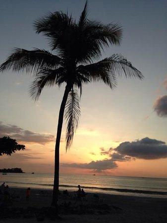 Hotel Riu Palace Tropical Bay: sunset