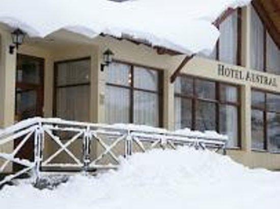 Hotel Austral: Entrada