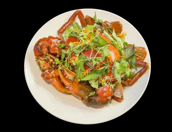 Nautilus Restaurant: Live Gulf Mud Crab Chilli & Lemongrass