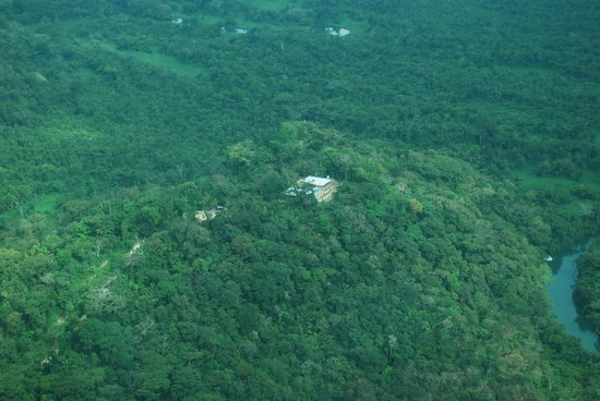 Belcampo Lodge: aerial view