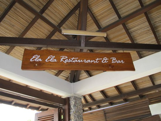 Cocotinos Sekotong, Boutique Beach Resort & Spa : customised menu to suit your taste buds