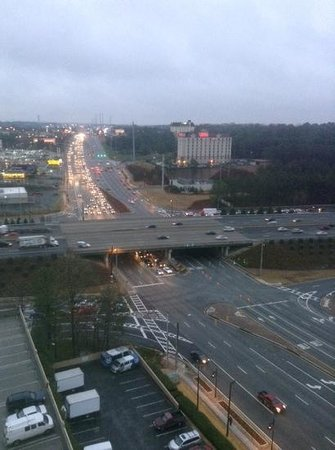 Sheraton Suites Galleria Atlanta: the view