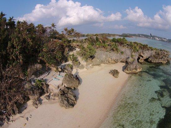 Lingganay Boracay Hotel Resort: Privat Beach
