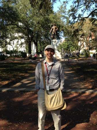 Free Savannah Tours: Our Tour Guide Daniel