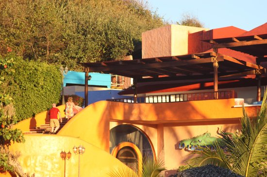 Los Angeles Locos : Disco and El Arrecife Restaurant at sunset