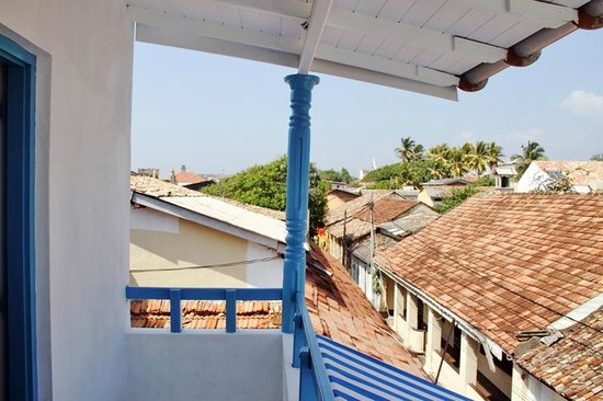 Pedlar's Inn Hostel: Balcony