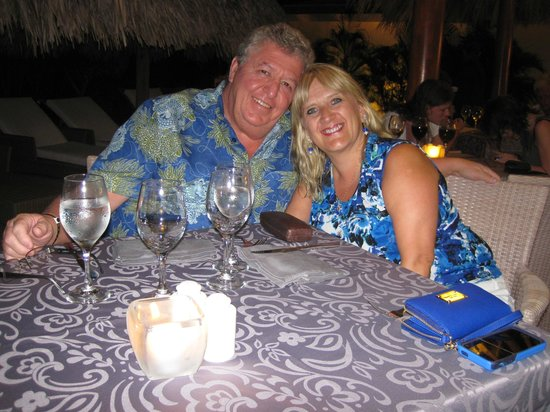 Catalonia Royal Bavaro : Having dinner at the Thai restaurant